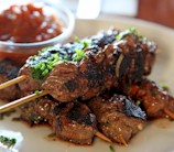 Grass Fed Beef Satay with Chinese Spices