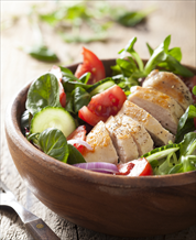 Paleo Greek Salad with Chicken