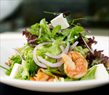 Greek Salad with Wild Shrimp