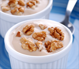Greek Yogurt Parfait with Walnuts & Honey