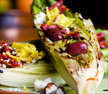 Grilled Caesar Salad with Sun-Dried Tomato Dressing