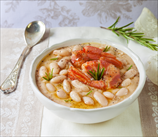 Halibut and Cannelini Bean Stew