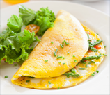 Herbed Asparagus and Tomato Omelet