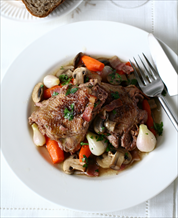 Instant Pot Coq Au Vin and Cauliflower Mashers