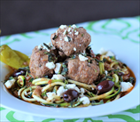 Instant Pot Greek Lamb Meatballs