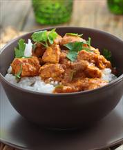 Instant Pot Indian Butter Chicken with Cauliflower Rice