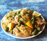 Instant Pot Keto Chicken Thighs with Lemon, Olives and Capers