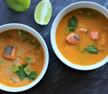 Instant Pot Thai Salmon Curry