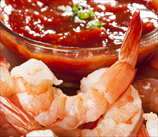 Jumbo Shrimp & Homemade Cocktail Sauce