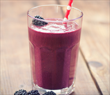 Keto Blackberry Vanilla Bean Smoothie