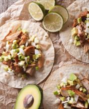 Keto Carnitas Street Tacos