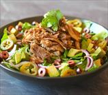 Keto Carnitas Taco Salad