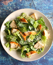 Keto Chicken Caesar Salad