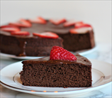 Keto Coconut Flour Chocolate Cake