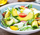 Keto Egg, Avocado & Sprout Salad