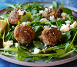Keto Greek Meatballs