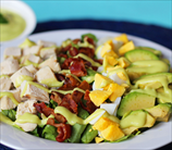 Keto Paleo Chicken Cobb Salad