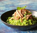 Keto Pork Tenderloin with Brocco-Rice