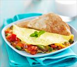 Keto Quick Mediterranean Omelet