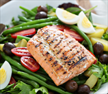 Keto Salmon Salad Niçoise