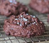 Keto Salted Brownie Cookies