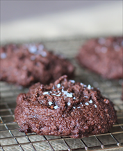 Dessert: Keto Sea Salt Brownie Cookies