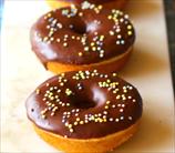 Keto Yeast-Raised Cake Donuts with Chocolate Glaze