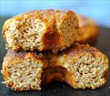 Keto Yeast-Raised Pumpkin Spice Donuts