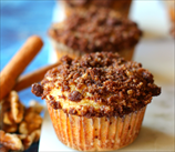 Keto Yeasted Streusel Muffins