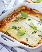 Keto Zucchini Lasagna with Arugula Salad