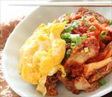 Kimchi + Scrambled Eggs