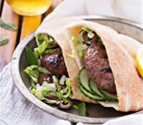 Lamb Burgers with Herbs