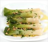 Leek Salad with Walnuts and Balsamic Dressing