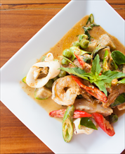 Lemongrass Seafood Curry