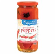Mediterranean Organic Fire Roasted Gourmet Red Peppers