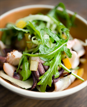 Mediterranean Calamari & White Bean Salad