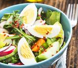 Keto Paleo Mediterranean Chef's Salad