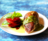 Mediterranean Chicken with Basil Pesto