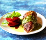 Mediterranean Chicken with Basil Pesto