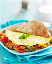 Keto Mediterranean Omelet