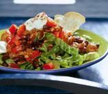 Mexican Salad with Black Beans & Avocado-Cilantro Dressing