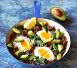 Mexican Shredded Beef with Eggs