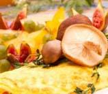 Mushroom Cheddar Omelet