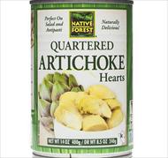 Native Forest Quartered Artichoke Hearts (14 oz)