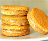 Not-Peanut Butter Sandwich Cookies