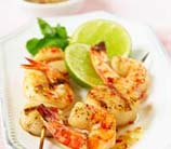 Orange-Ginger Shrimp Kebabs