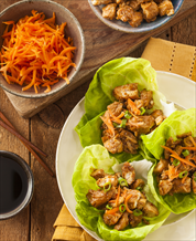 Paleo Asian Lettuce Wraps