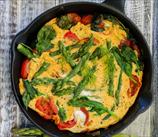 Paleo Asparagus Omelet