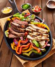 Paleo Chicken Fajitas with Cassava-Coconut Tortillas and Guacamole