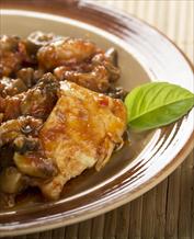 Paleo Chicken Marsala, Mashers & Green Beans